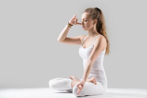pranayam Meditation in Hindi