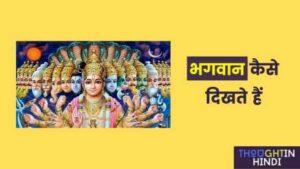 भगवान कैसे दिखते हैं | Cosmic Krishna According Bhagavad Geeta